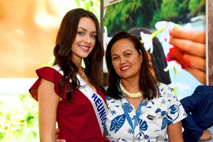Quand Morgane Lebon rencontre Vaimalama Chaves, Miss France, et Sylvie Tellier