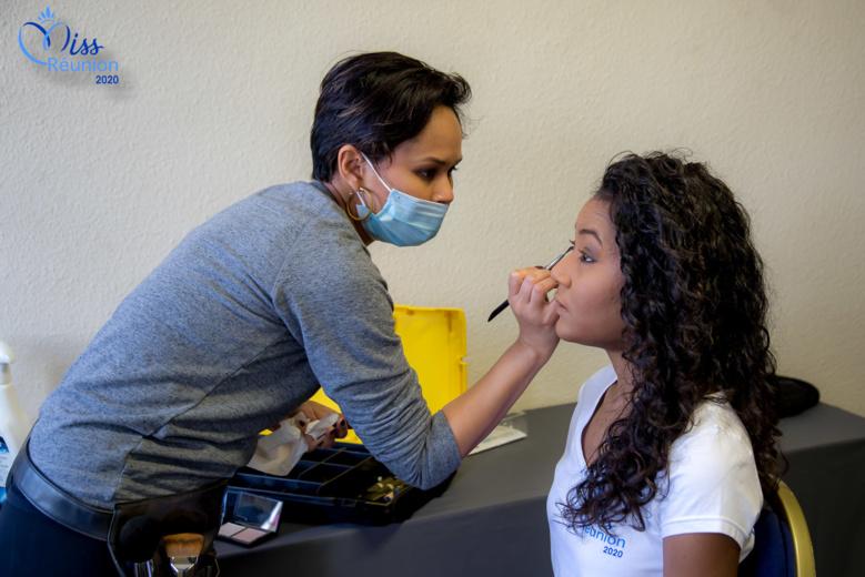 Backstage Miss Réunion 2020: préparatifs