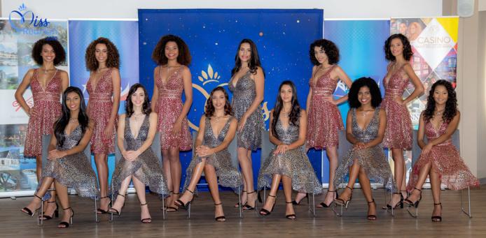 Miss Réunion 2020: les 12 candidates face à la presse locale