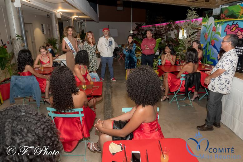 Soirée conviviale et pyjama party à l'Hôtel Le Terre Sainte pour les candidates 2021