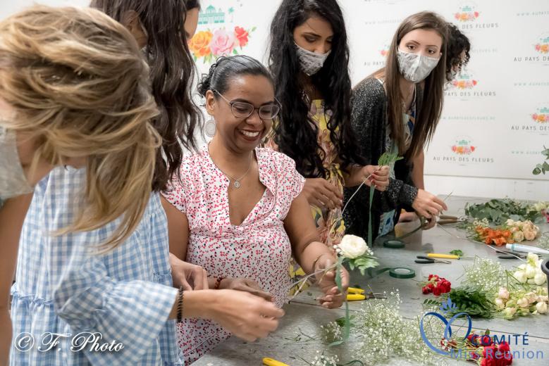 Les candidates 2021 Au Pays des Fleurs...