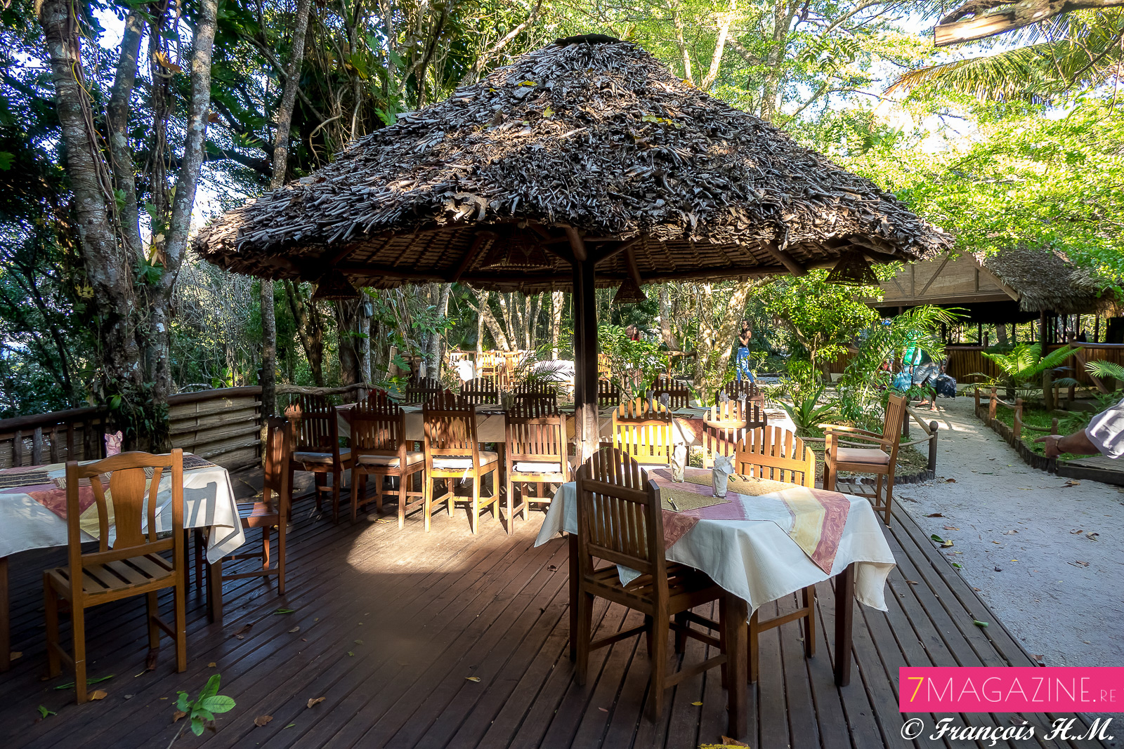 Un restaurant agréable où on mange bien...