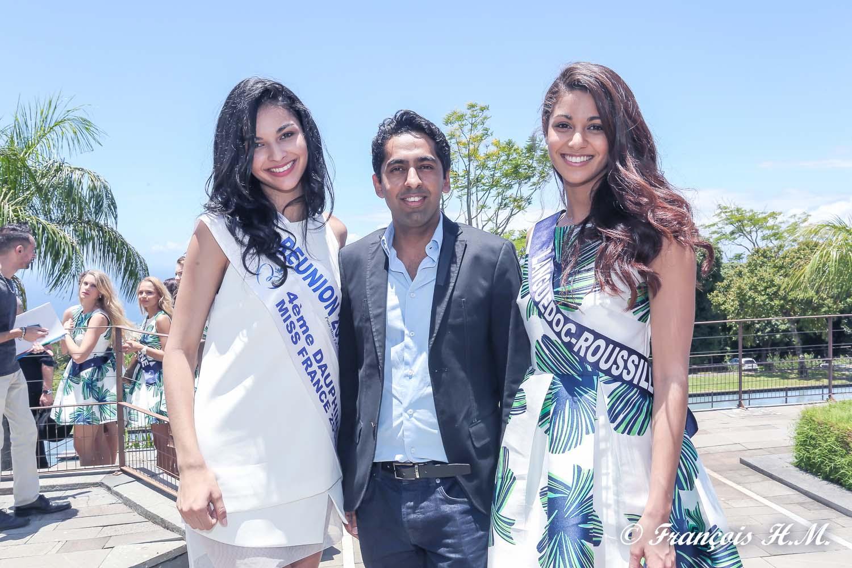 Les candidates Miss France 2017 au MOCA
