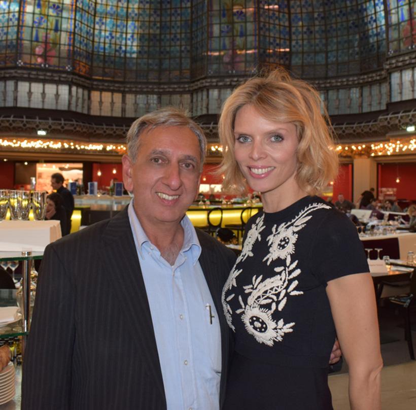 Aziz Patel, délégué Réunion, et Sylvie Tellier
