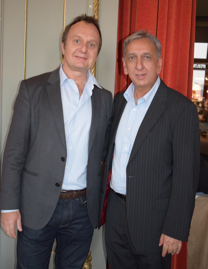 Nicolas Coppermann et Aziz Patel