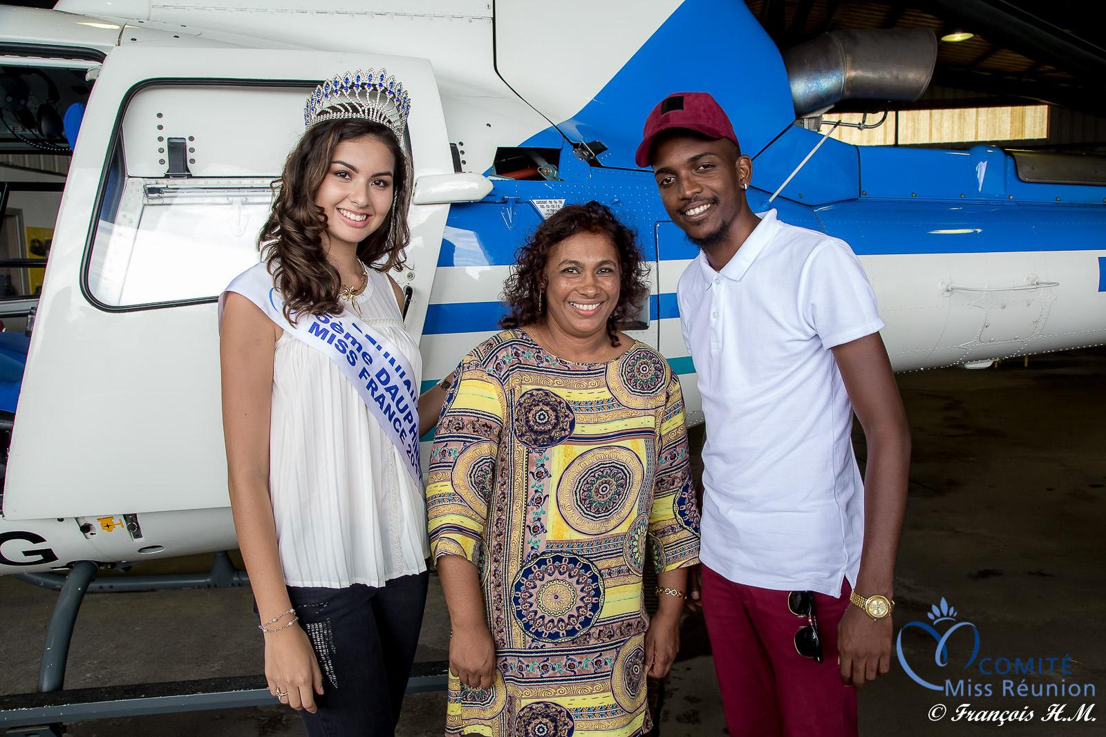 Ambre et Black T avec Véronique Ingar, l'épouse d'Ibrahim