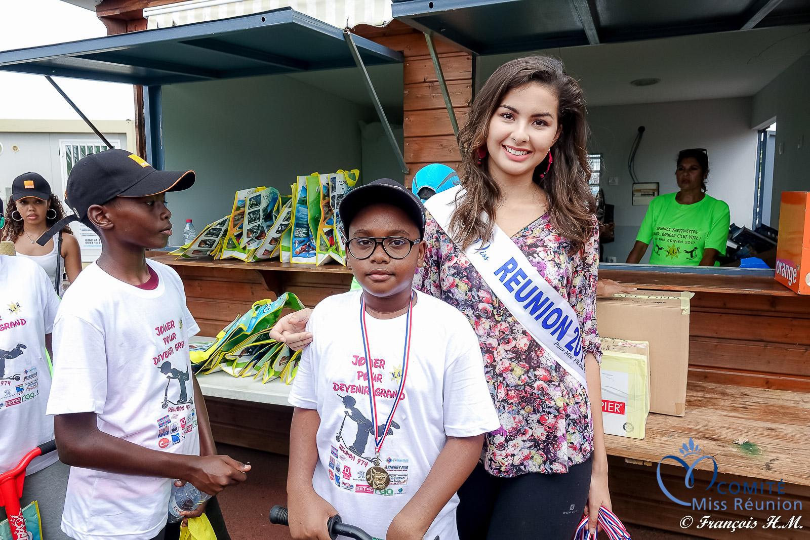 Miss Réunion à la Journée de la Trottinette