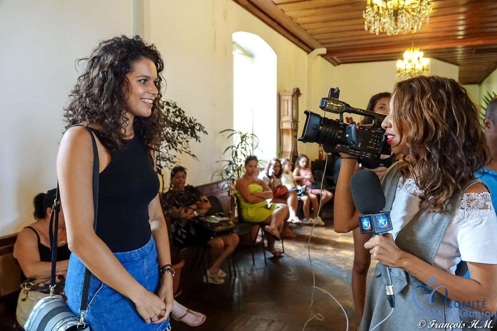 Vanille M'Doihoma, Miss Réunion 2013, a prodigué ses conseils aux candidates