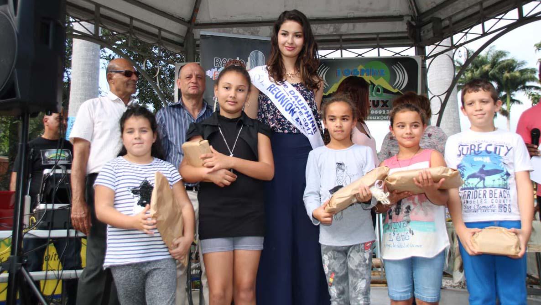 Avec les plus jeunes gagnants du concours
