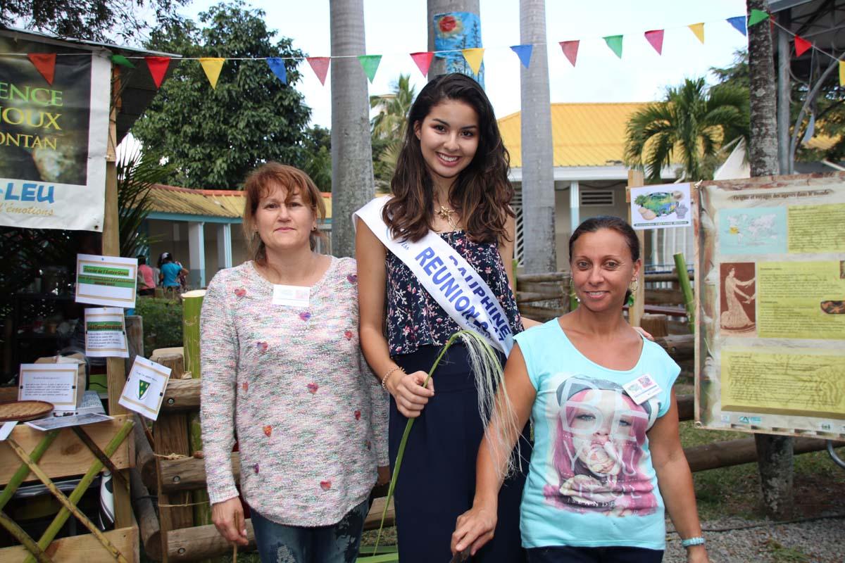 Ambre N'guyen à la Fête du Choca 2017 à l'Entre Deux