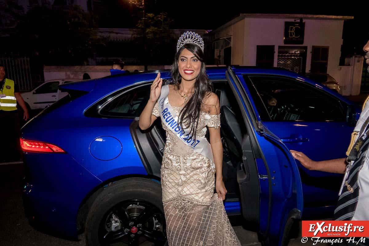 L'arrivée de la nouvelle Miss Réunion à la Villa du Département