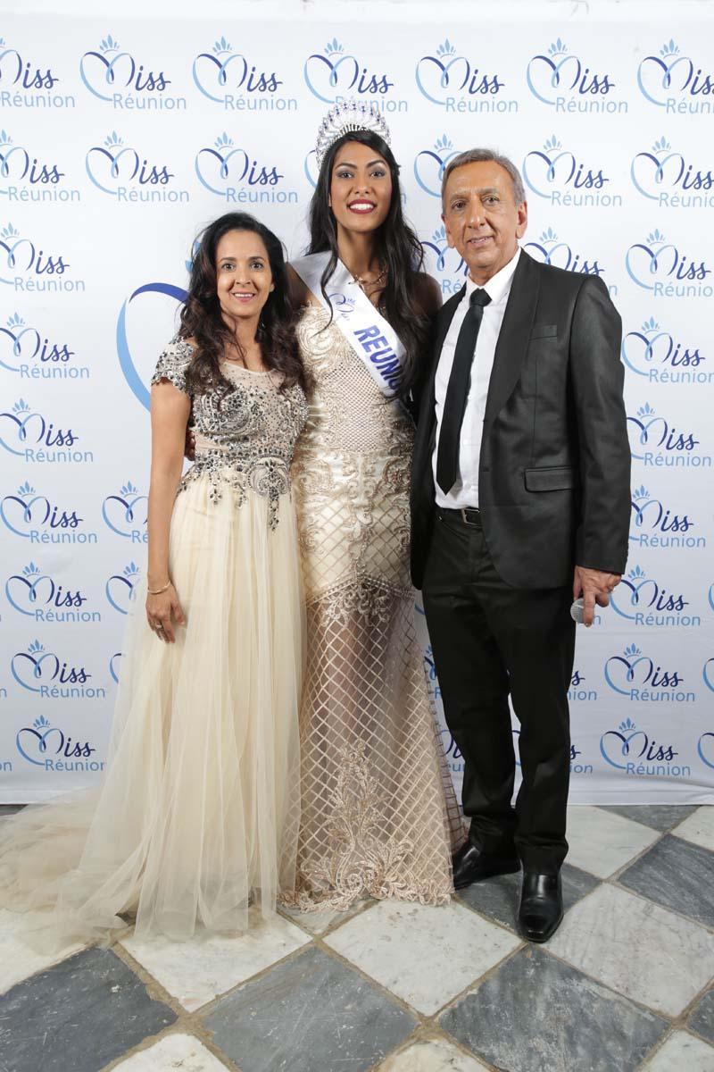 Amida Hussen, Miss Réunion, et Aziz Patel