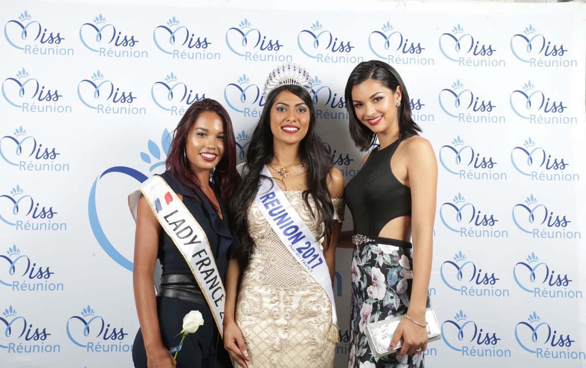 Aurore Carron, Lady France, Audrey Chane Pao Kan, et Azuima Issa, Miss Réunion 2015