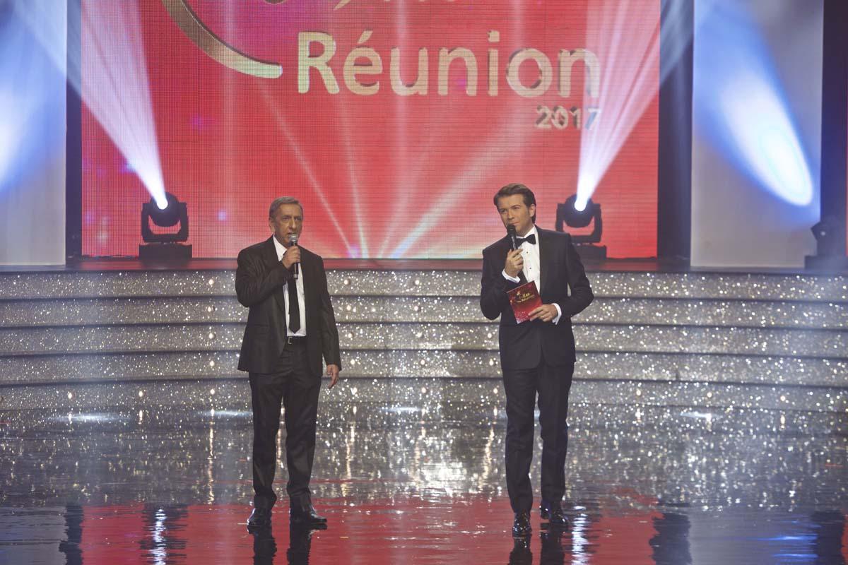 Aziz Patel, délégué Miss France, et Christophe Bégert