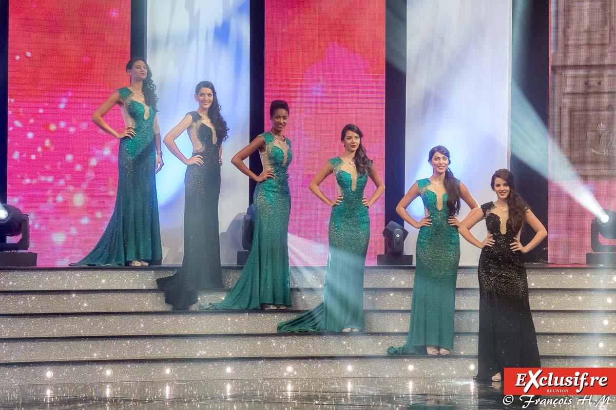 Miss Réunion 2017: en robes de soirée et en robes de mariée