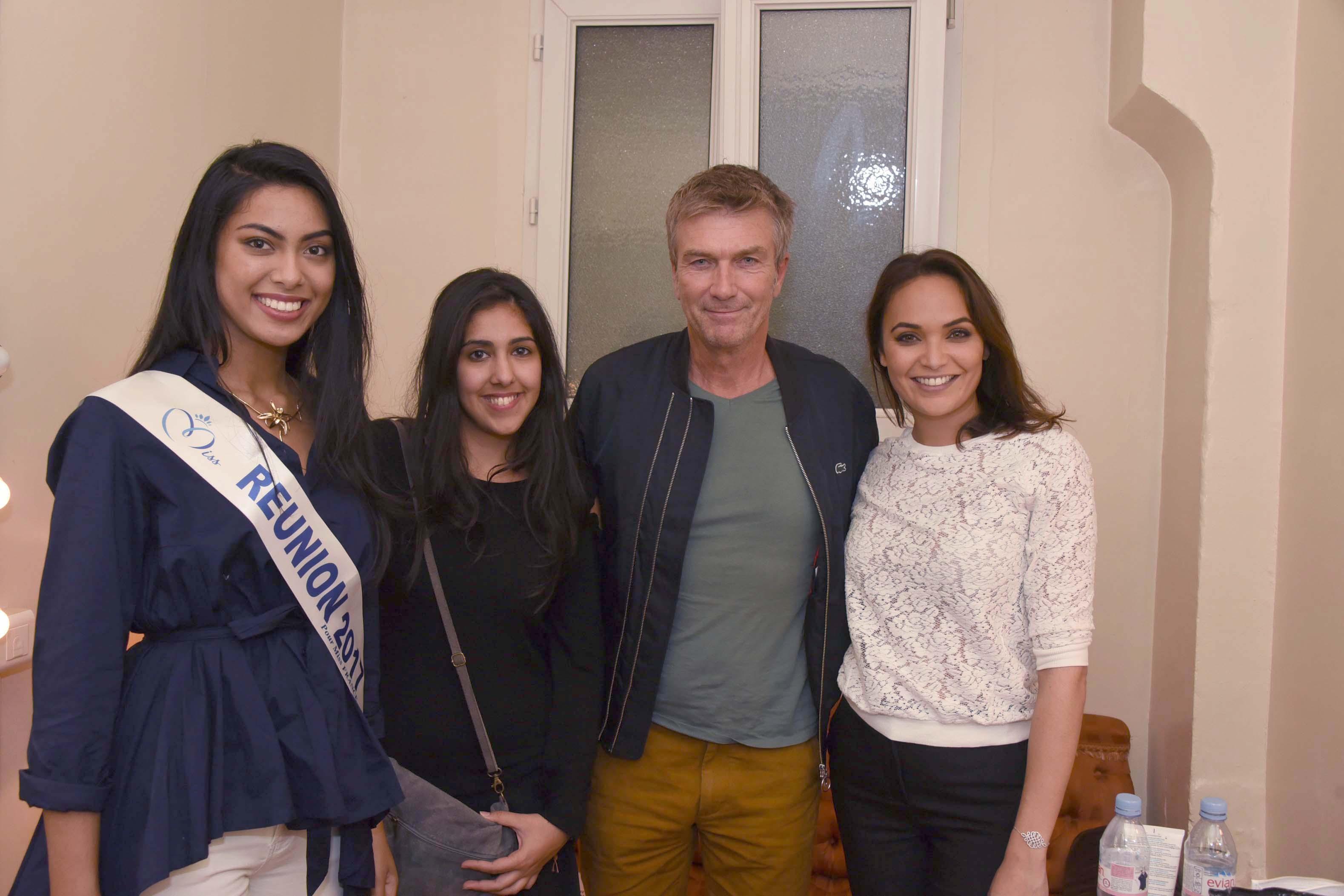 Miss Réunion est allée voir Valérie Bègue jouer au théâtre à Paris