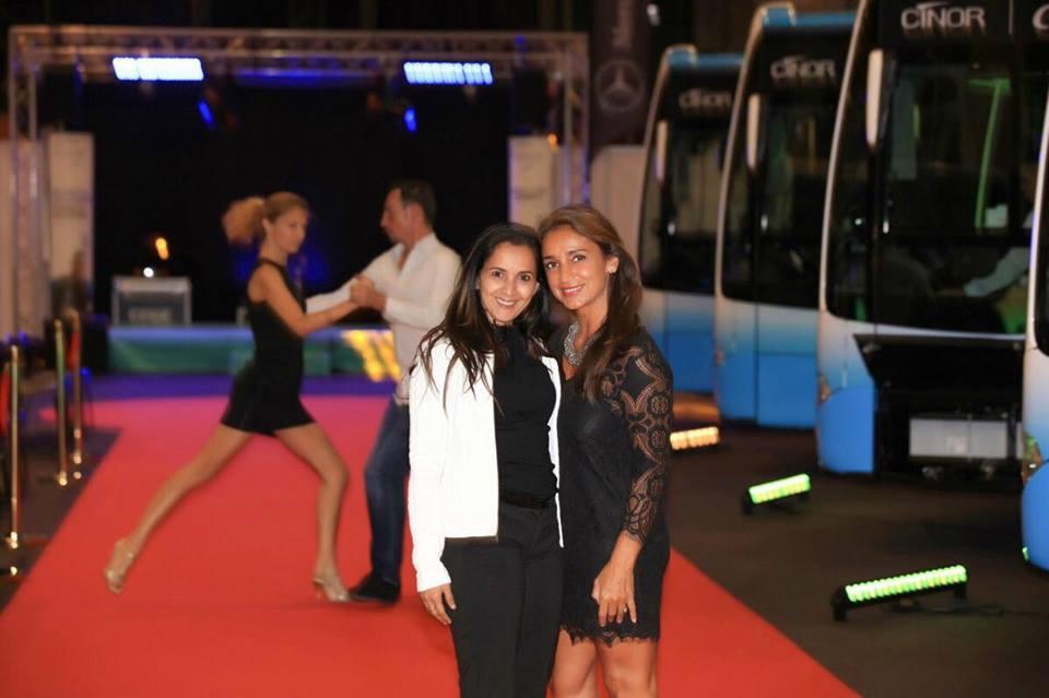 Amida Hussein et Lynda Martin