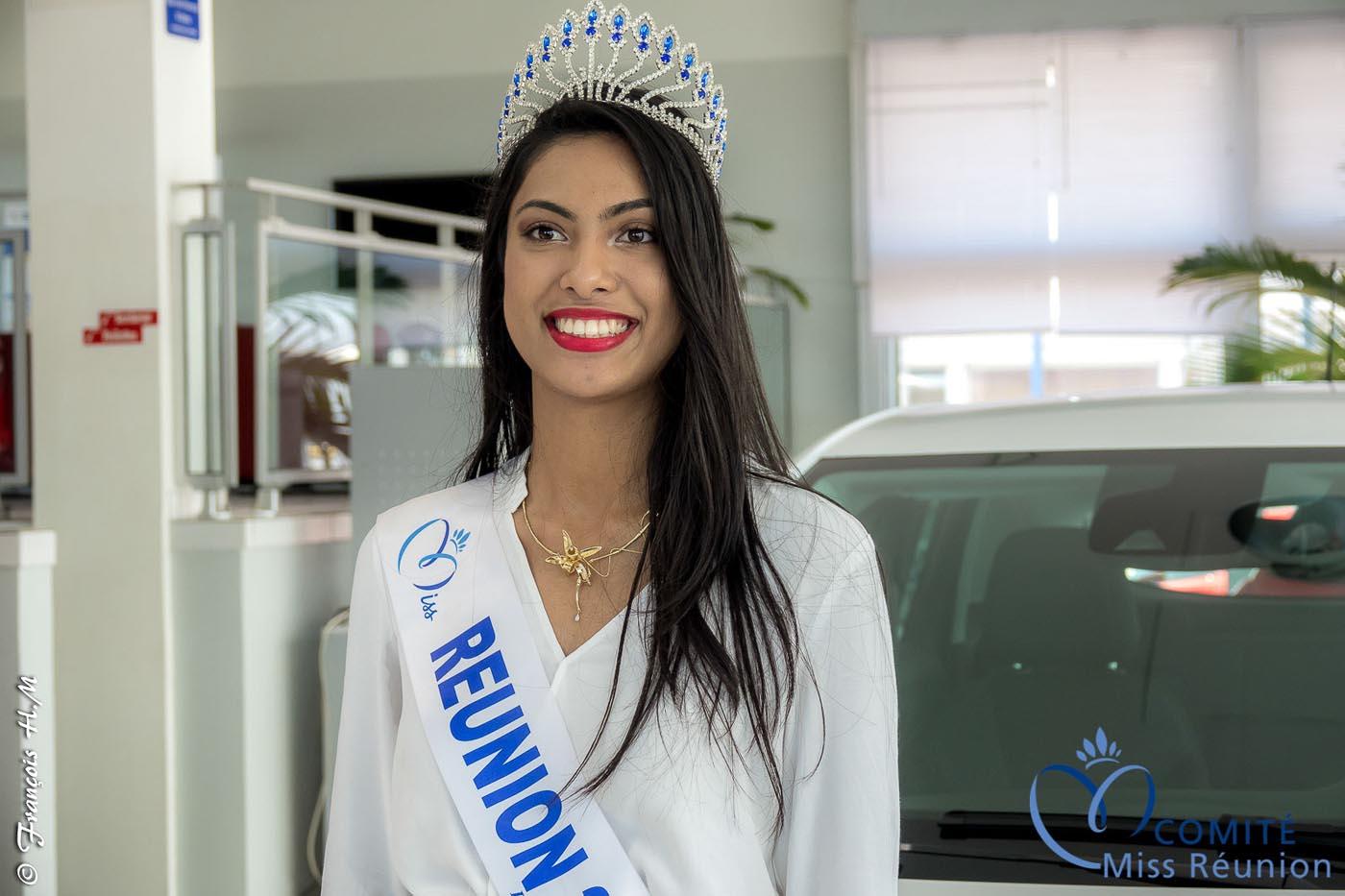 Le magnifique sourire de Miss Réunion 2017