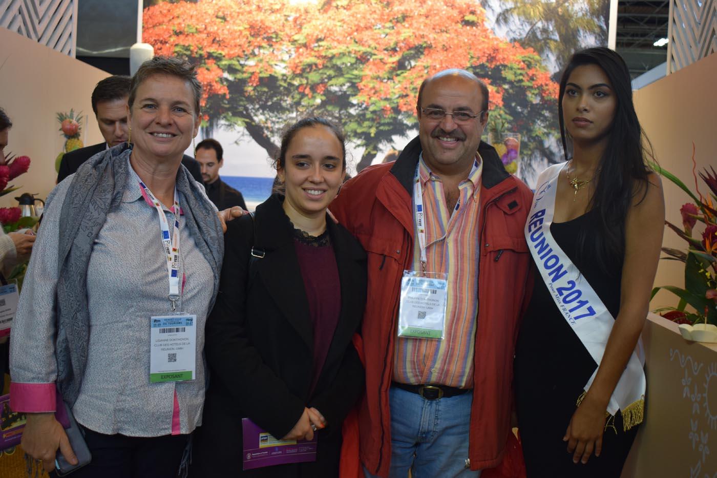 Miss Réunion à Top Résa 2017