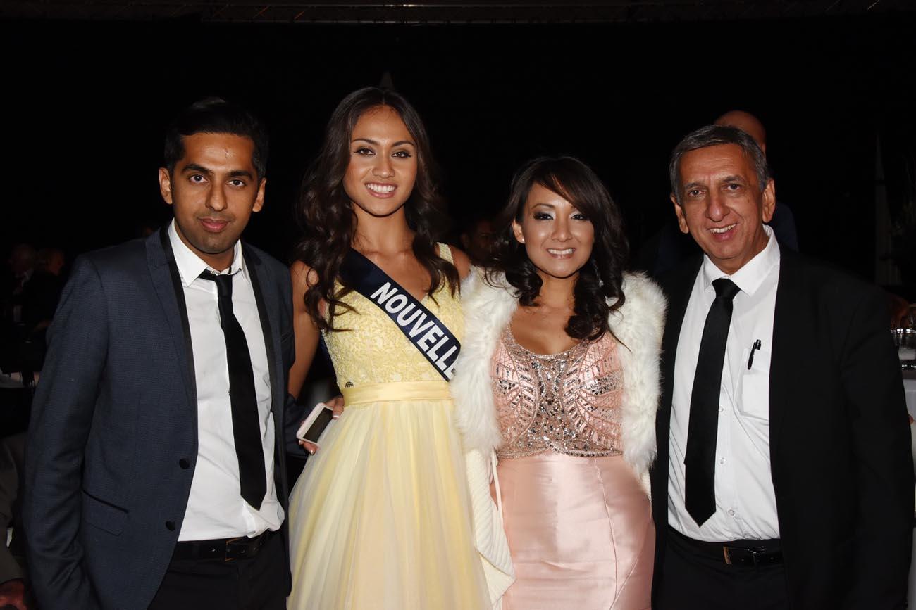 Avec Miss Nouvelle Calédonie et sa déléguée