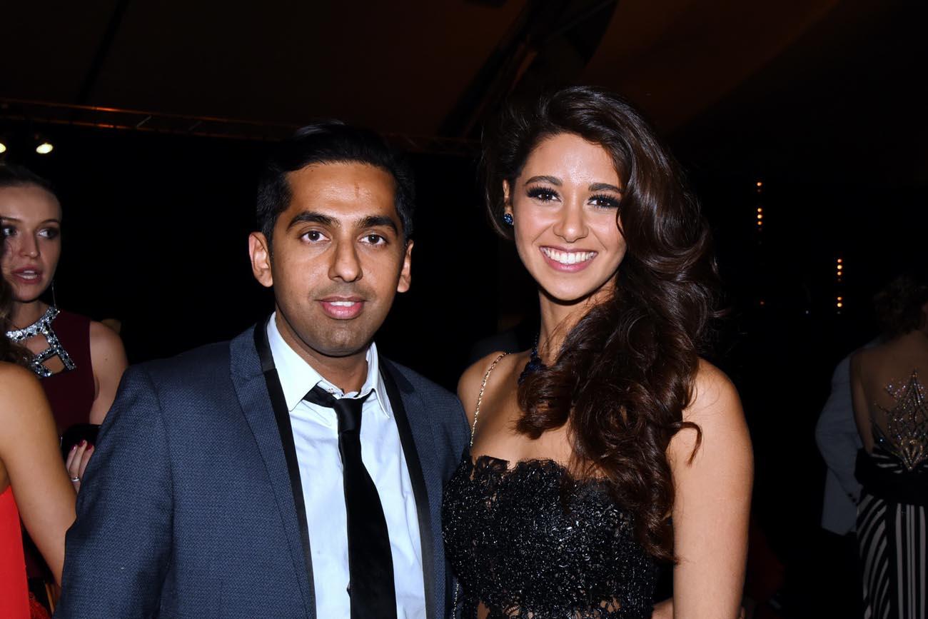 Réchad Patel et Aurore Kichenin