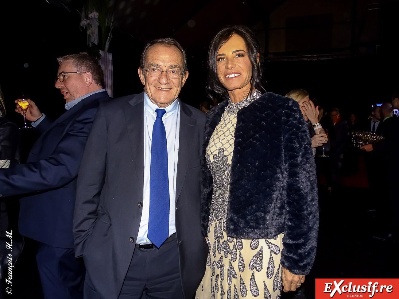 Jean-Pierre Pernault et son épouse Nathalie Marquay, ex-Miss France