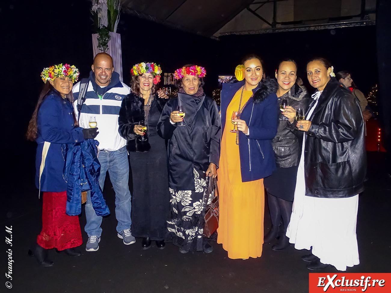 L'équipe de Tahitiens