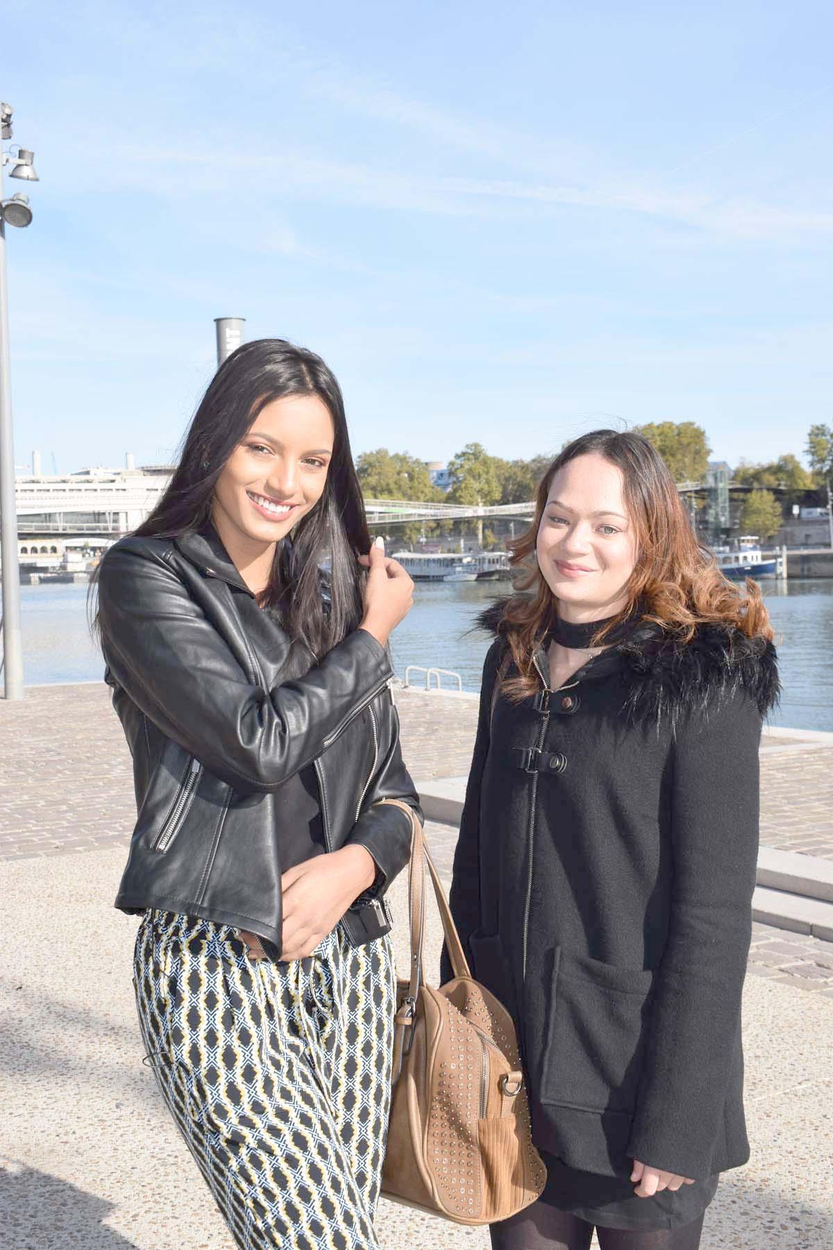 Retrouvailles avec Amélie, sa meilleure amie qui vit à Paris