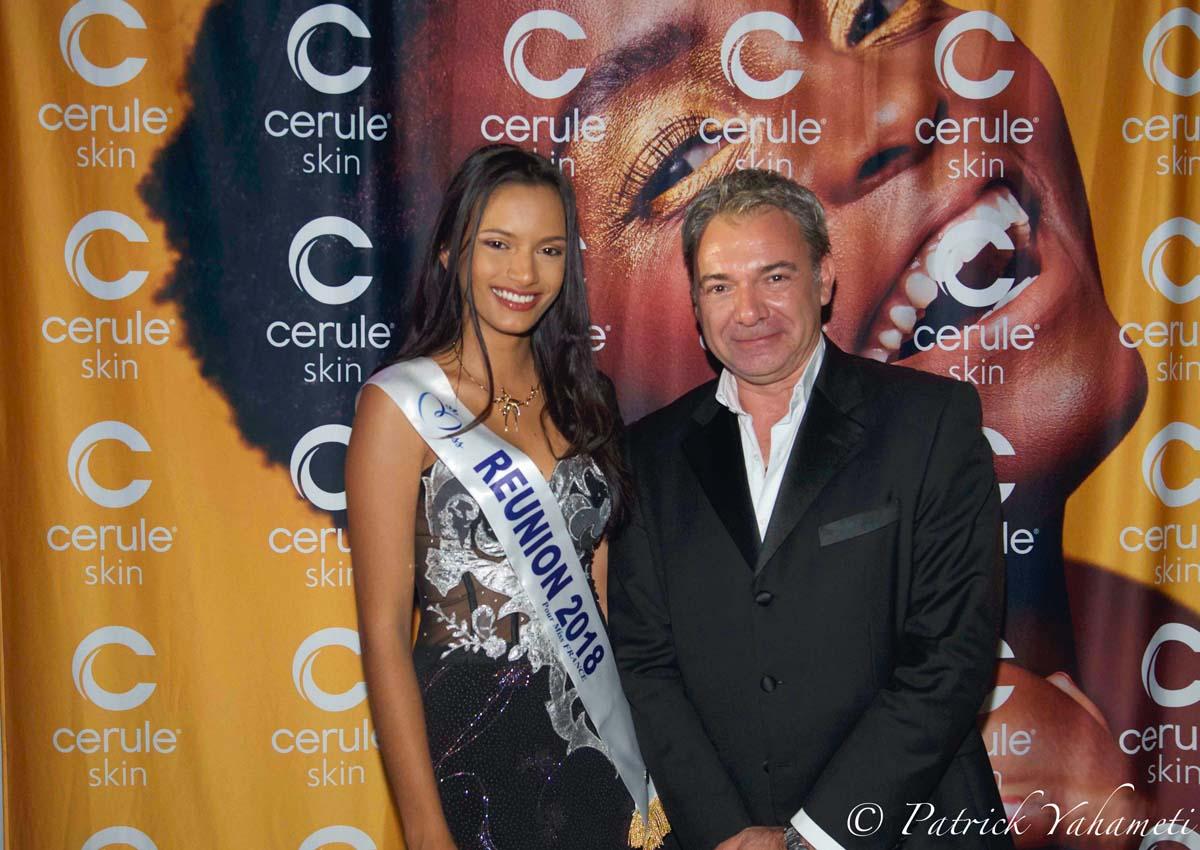 Morgane Soucramanien avec Christian Tricoche, directeur général Cerule Europe
