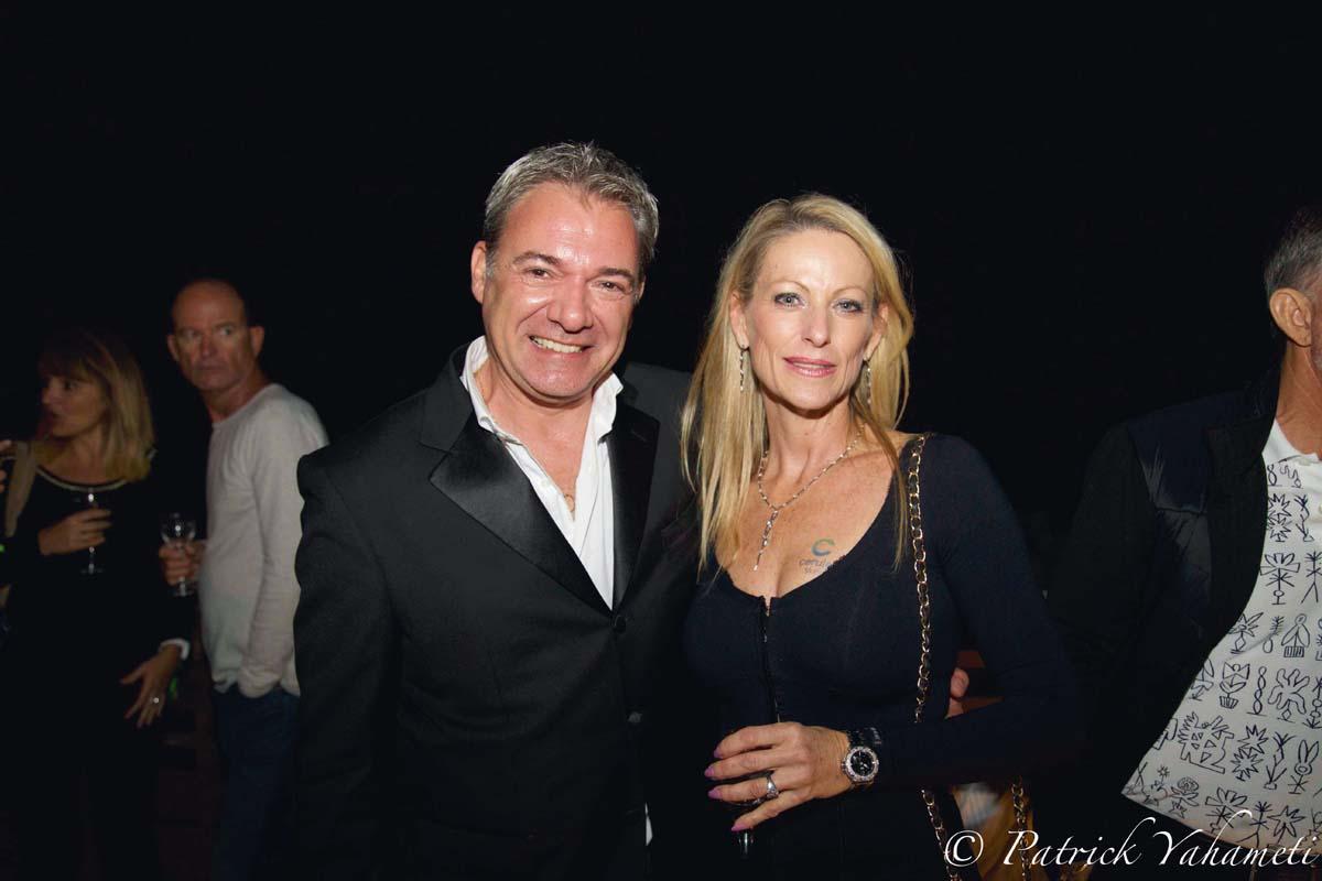 Christian Tricoche et Caroline Cuozzo