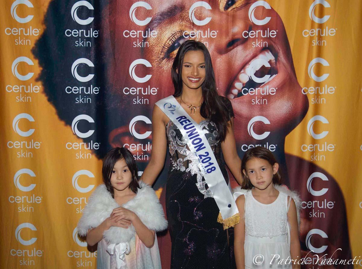 Morgane Soucramanien à la soirée Cerule Skin au Choka Bleu