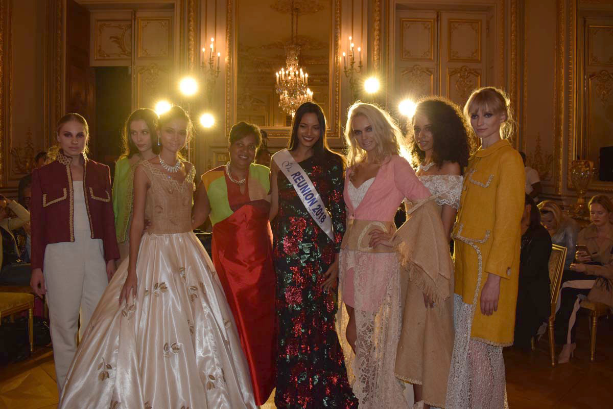 Miss Réunion 2018 à la Fashion Week de Paris