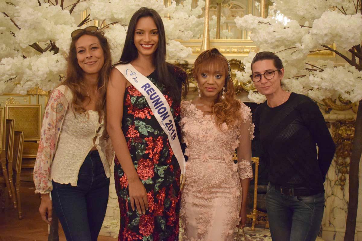 Vanille Attié, Morgane Soucramanien, Tiffany McCall, et Elodie Georges