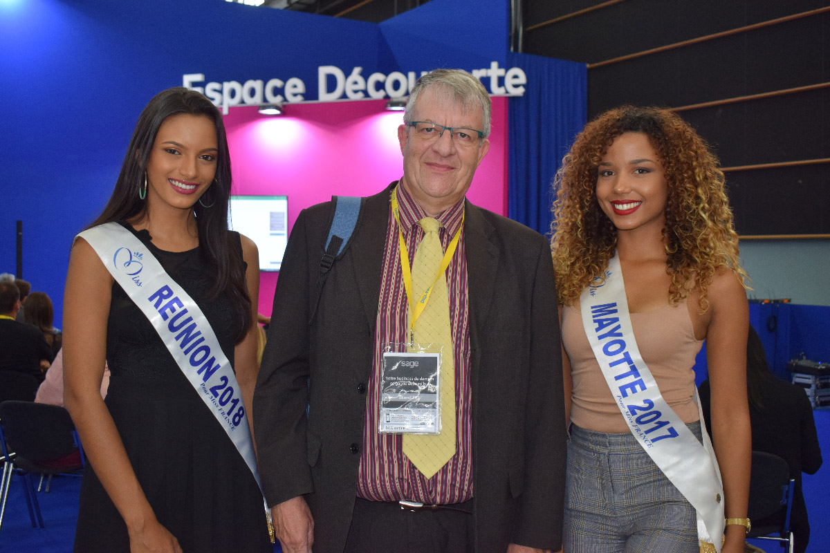 Morgane, Philippe Lorin, et Vanylle