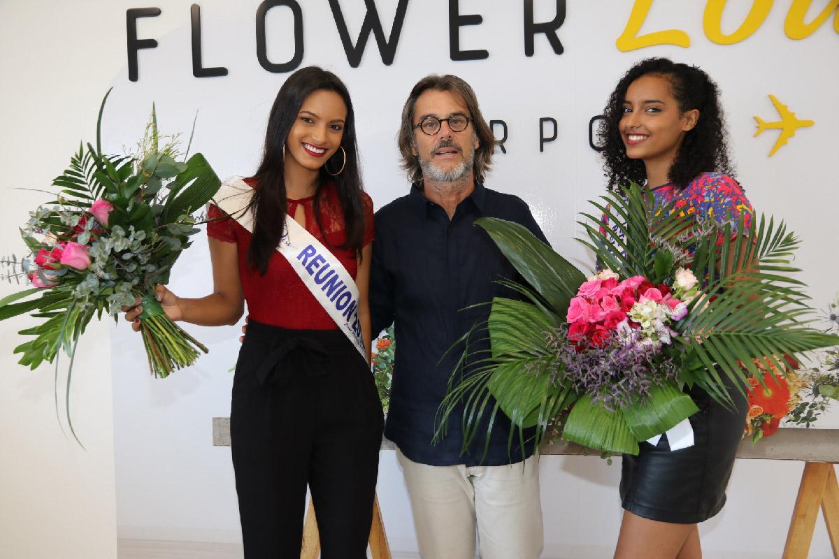Morgane Soucramanien, Philippe Rolland et Elisa Villard