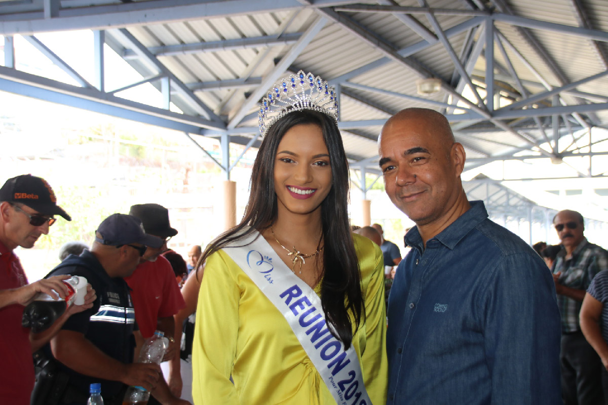 Miss Réunion avec Johnny Hospital