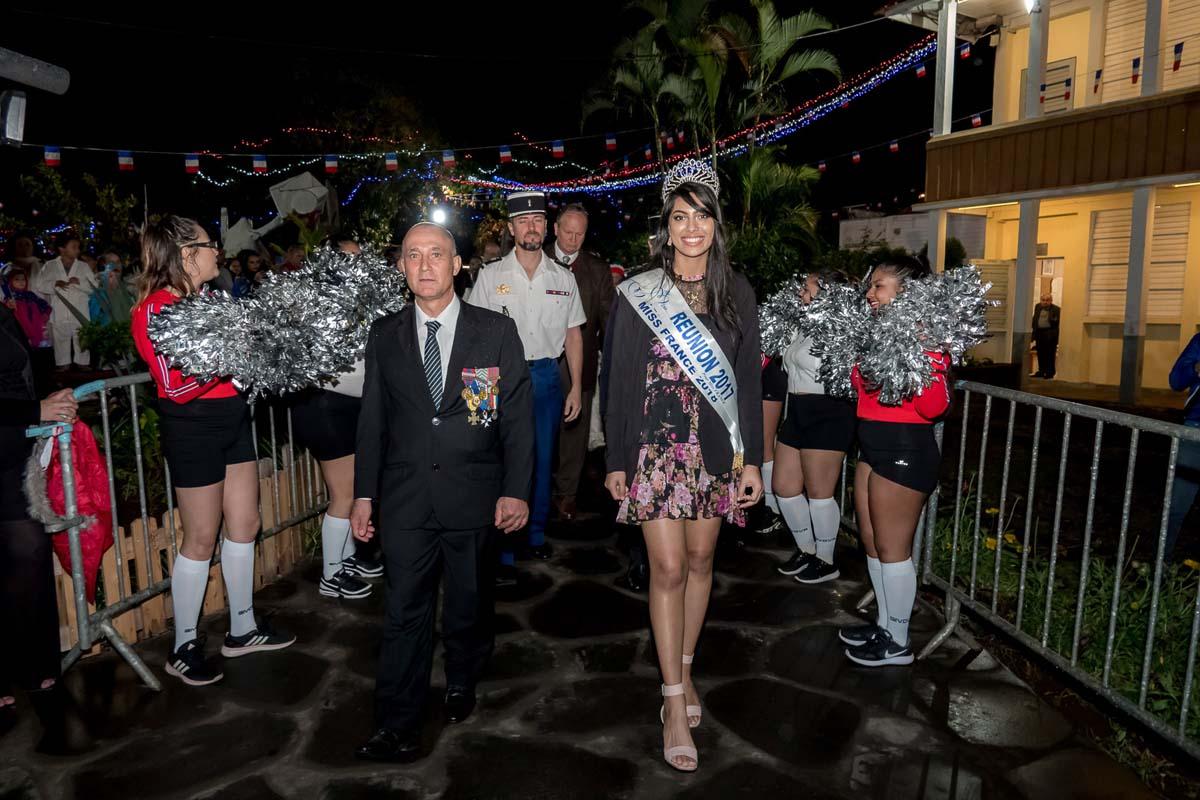 Audrey Chane Pao Kan à la Fête Nationale à L'Entre-Deux