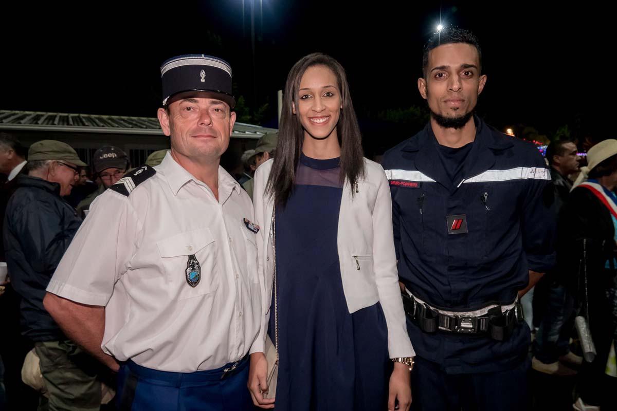 Kaimie Gardebien, candidate Miss Réunion, originaire de l'Entre Deux, était présente aussi