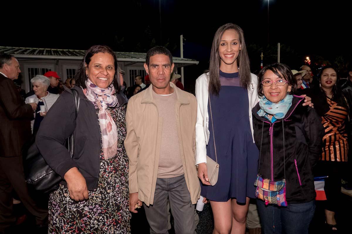 Kaimie et sa famille