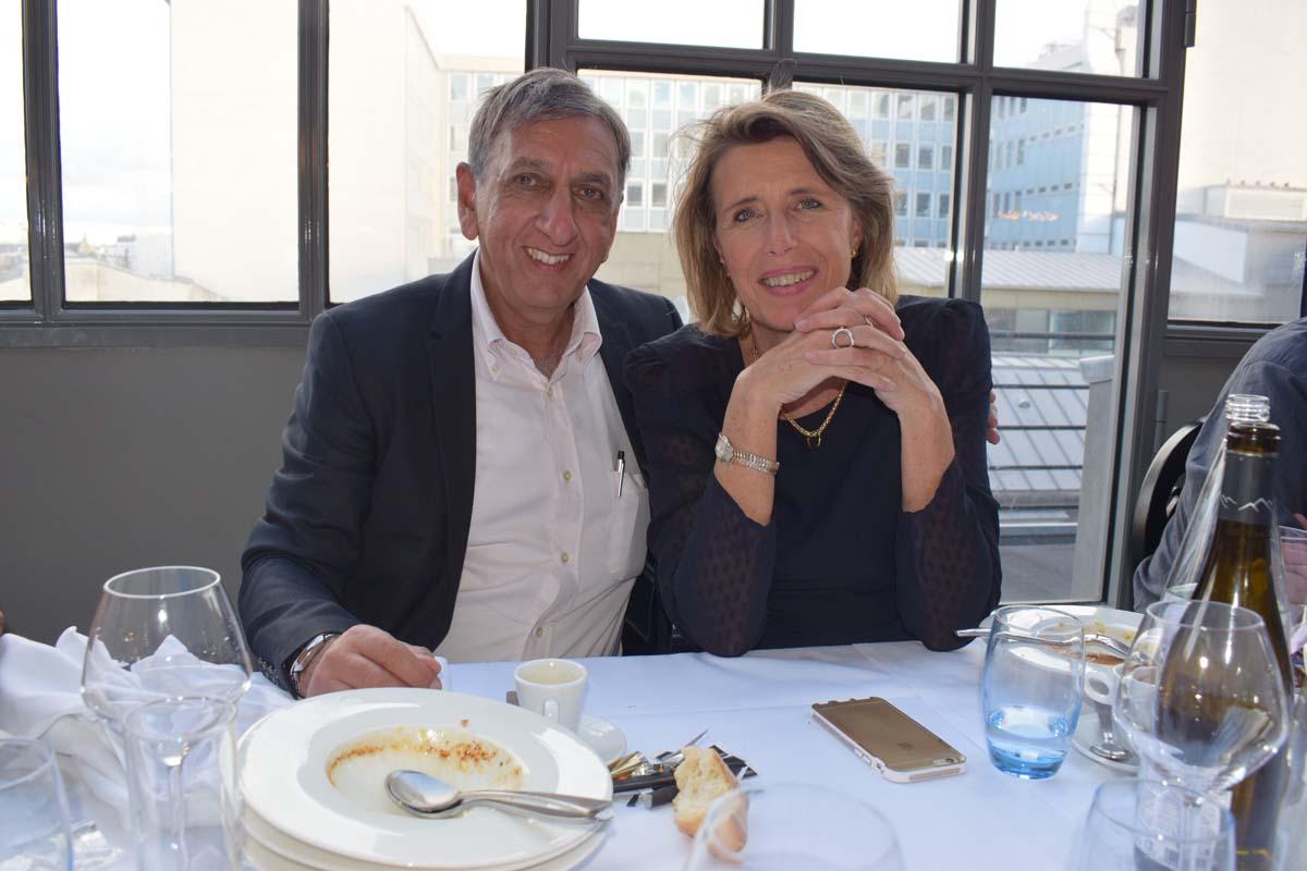 Aziz Patel et Nicolette Courtot-Visser