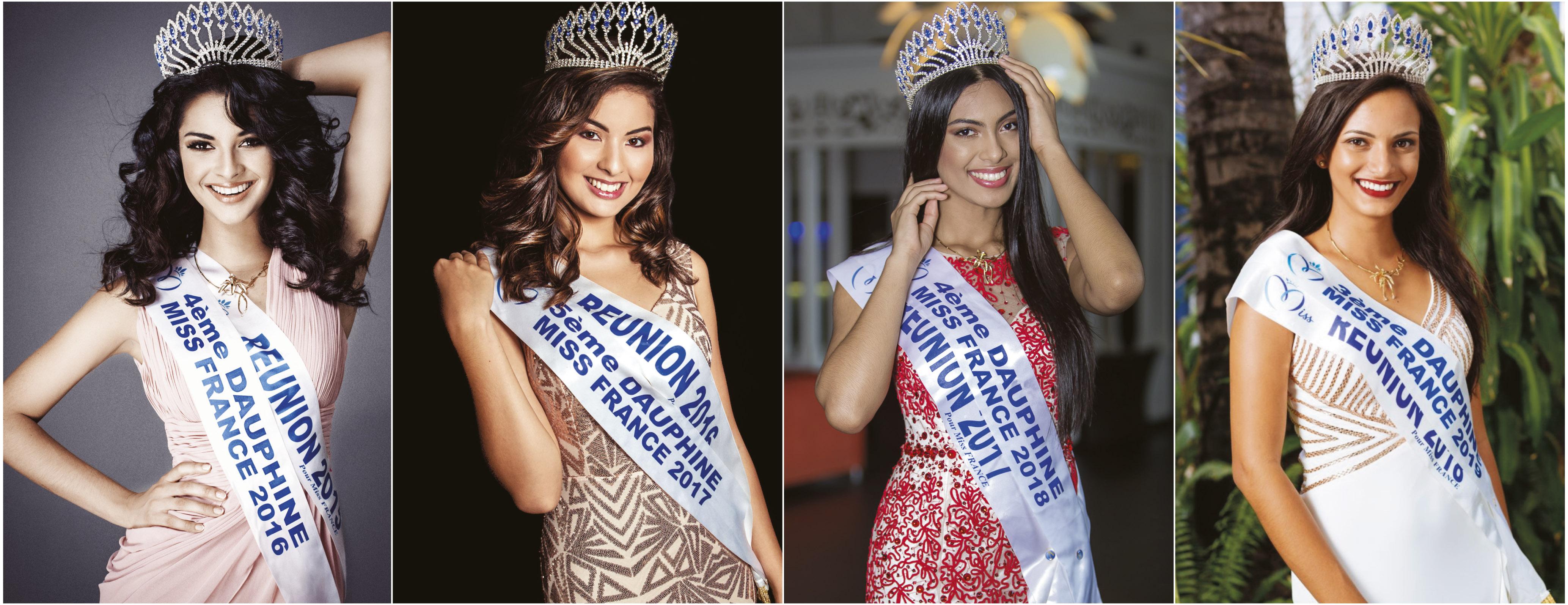 Miss Réunion: 4 dauphines Miss France en 4 ans!