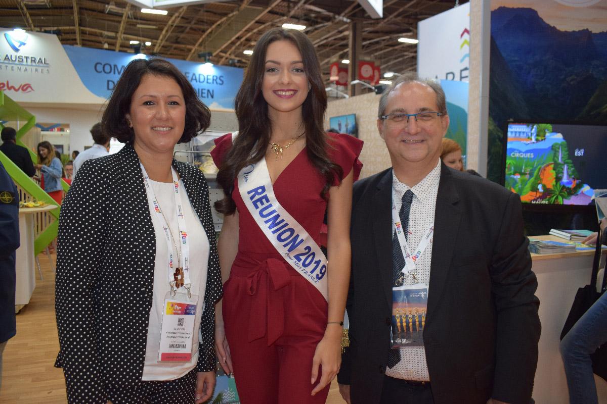 Susan Soba, directrice de l'IRT, Morgane Lebon, et Stéphane Fouassin, président de l'IRT