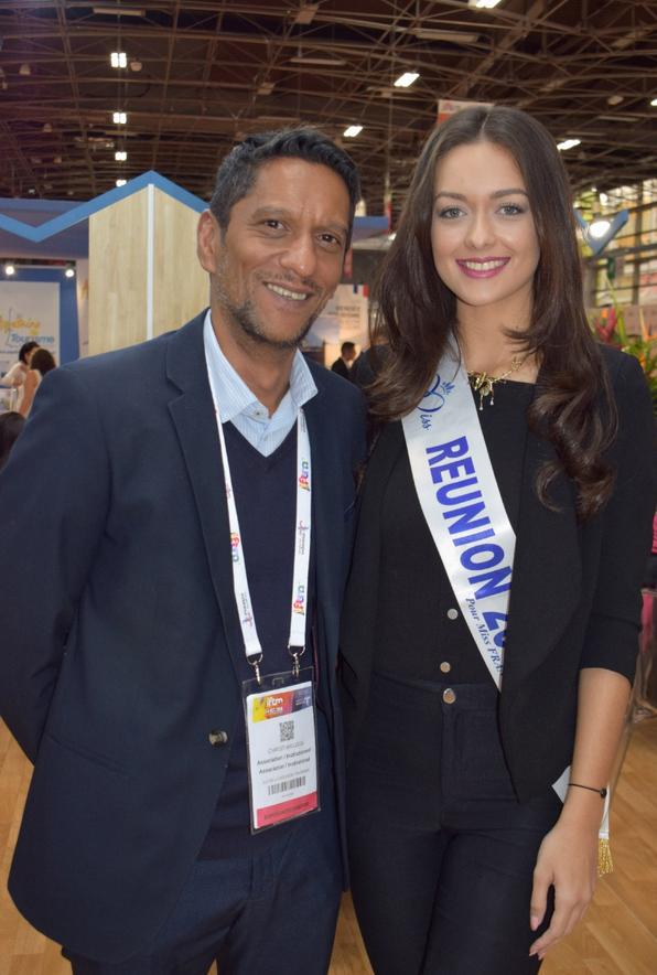 Christian Loga, vice-président de l'IRT, et Morgane Lebon