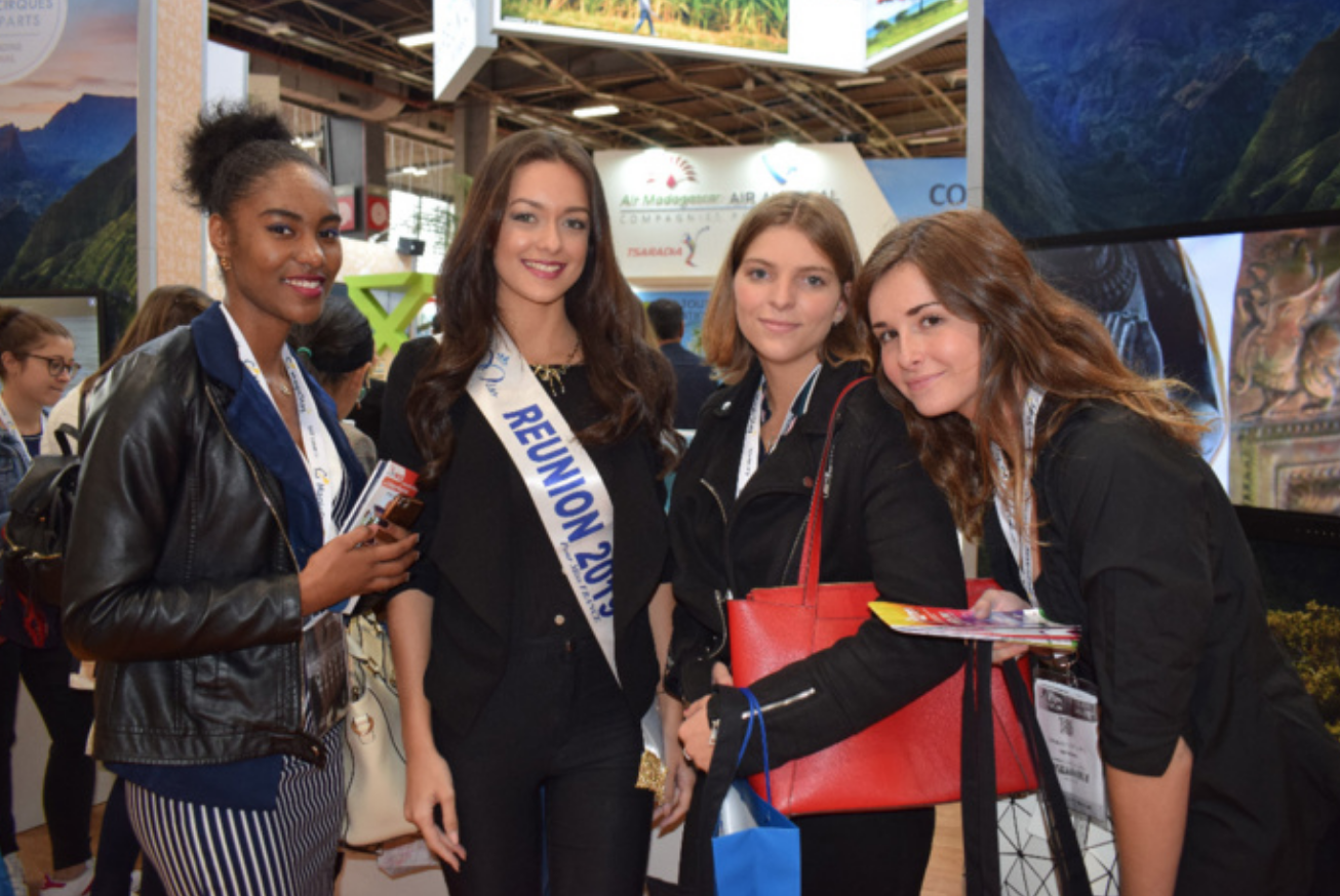 Morgane Lebon au Salon Top Résa 2019 à Paris