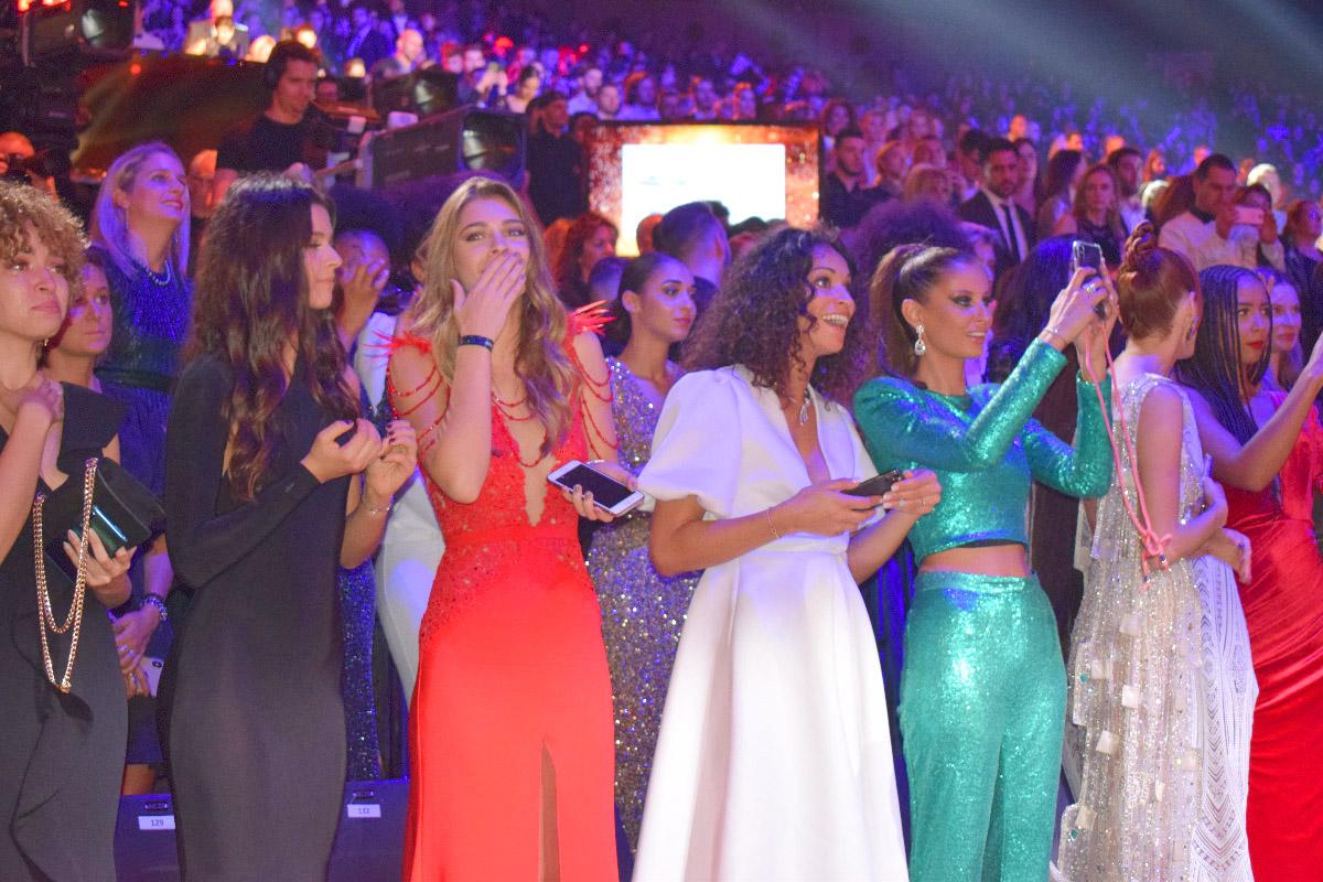 Plusieurs ex-Miss France étaient présentes