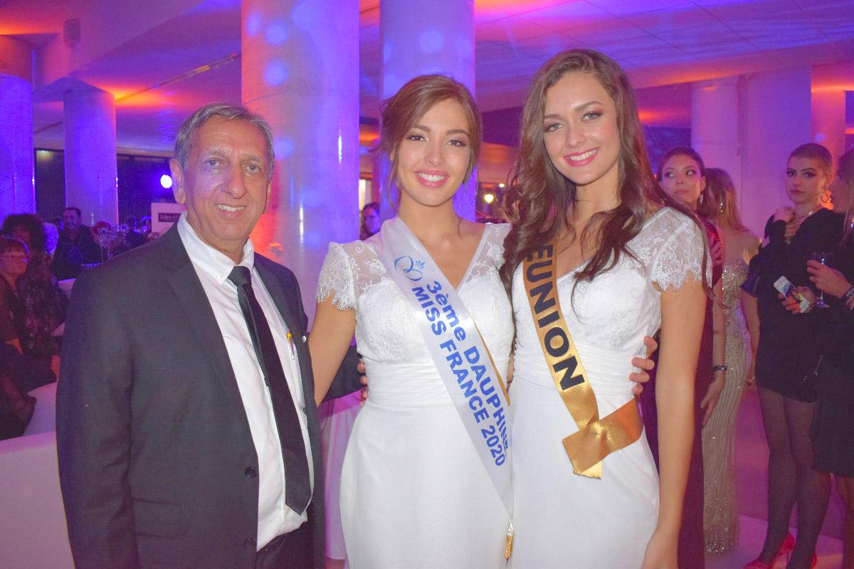 Aziz Patel, Miss Bourgogne et Miss Réunion
