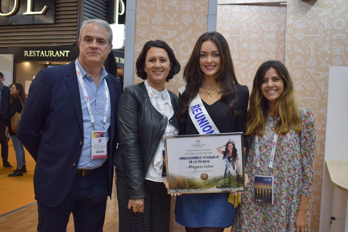 Morgane Lebon nommée Ambassadrice d'Honneur de La Réunion par l'IRT