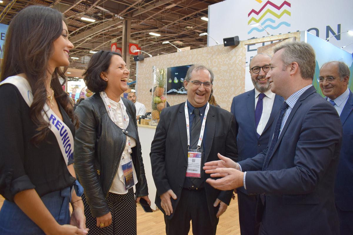 Echanges très cordiaux avec le Secrétaire d'Etat au Tourisme