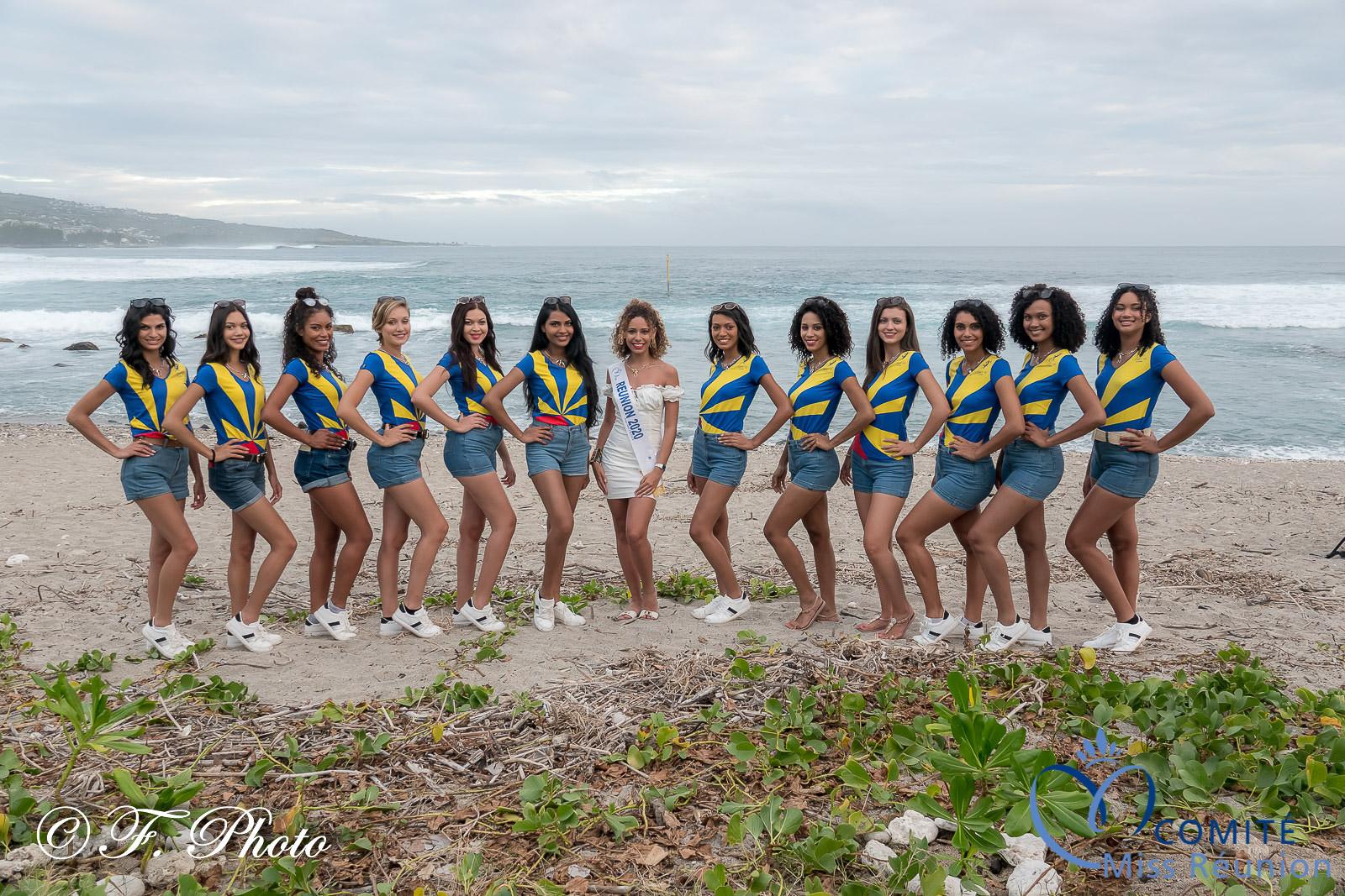 Avec Lyna Boyer, Miss Réunion 2020, 5ème dauphine Miss France 2021