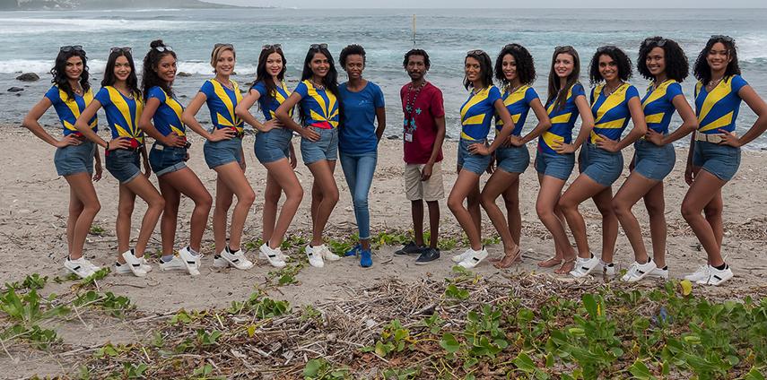 Les candidates visitent Kélonia, l'observatoire des tortues marines